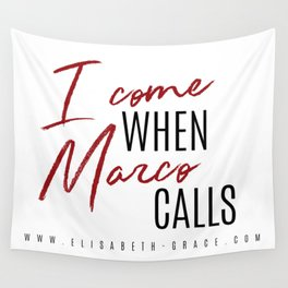 Marco Calls Wall Tapestry