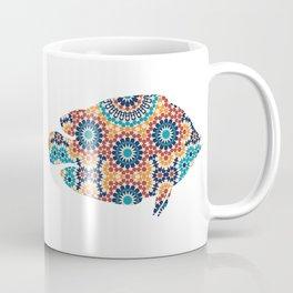 FISH SILHOUETTE WITH PATTERN Coffee Mug