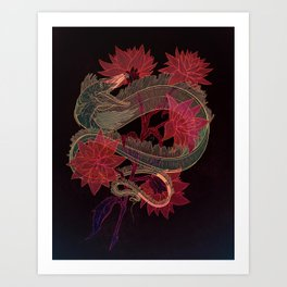 Astral Candy - Dusty Art Print