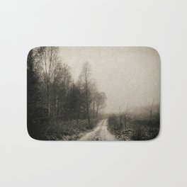 Snowfalls Gone By Bath Mat