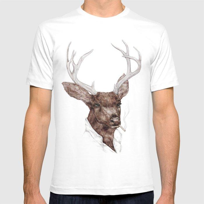 Smoking Buck T-shirt