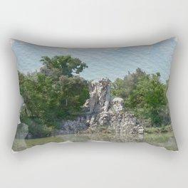 HALF MAN HALF MOUNTAIN Rectangular Pillow