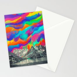 Skyfall, Melting Northern Lights Stationery Cards