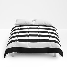 Black & White Stripes- Mix & Match with Simplicity of Life Comforters