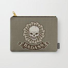 Badass skull Carry-All Pouch