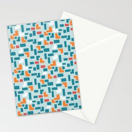 Bricks - dark Stationery Cards