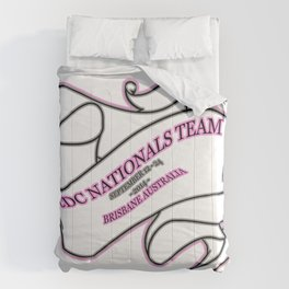 Perth Cheer and Dance Crew - Nationals Team 2014 Comforters