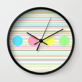 Notes and sound Wall Clock