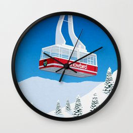 Snowbird Ski Resort Wall Clock