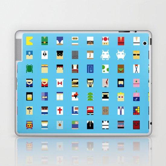 Minimalism beloved Videogame Characters Laptop & iPad Skin