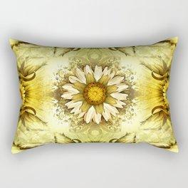 """""""Victorian Garden Spring Flowers"""" Rectangular Pillow"""