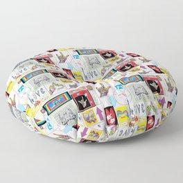 ASL Art Medley Floor Pillow