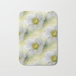 flowers -10- seamless pattern Bath Mat