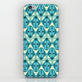 Doctor Who: Cybermen Pattern iPhone Skin