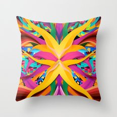 Tropical Fun Throw Pillow