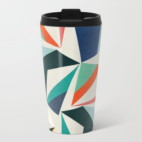 Collection of pointy summit Metal Travel Mug