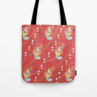 platypus Tote Bags featuring Platypus by Sarah Hedge