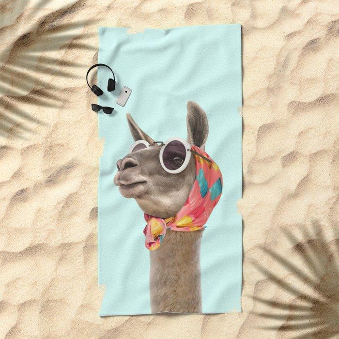 FASHION LAMA Beach Towel