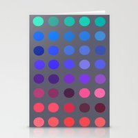 pantone Stationery Cards featuring Pantone 2 by lescapricesdefilles