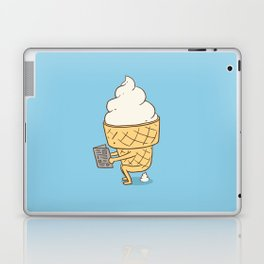Everyone Poops (Blue) Laptop & iPad Skin
