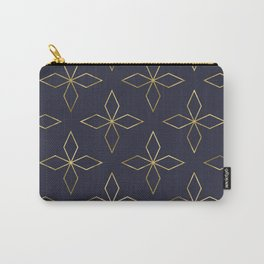 Gold Modern Deco 2 Carry-All Pouch