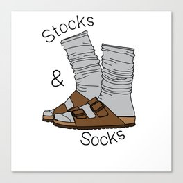 Stocks and Socks Canvas Print