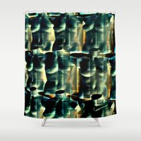 body Shower Curtains featuring body Worlds by Laake-Photos