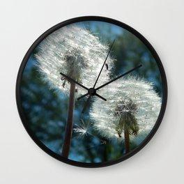 Dandelion Trees Wall Clock