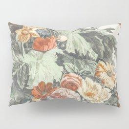 Vase with a floral garland by Johan Teyler (1648-1709) Pillow Sham