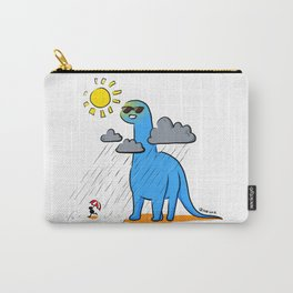 Brachiosaurus - How's the Weather Up There? Carry-All Pouch