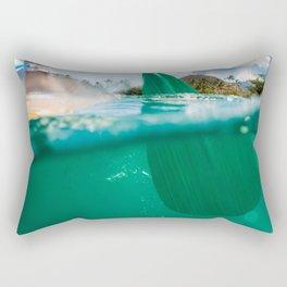 Stand Up Paddling Rectangular Pillow