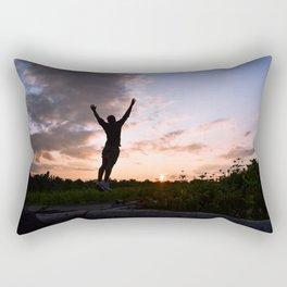 Touch The Sky Rectangular Pillow