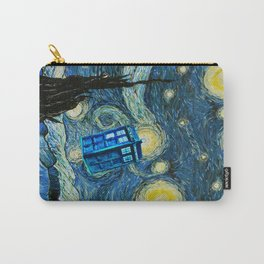 Flying Tardis doctor who starry night iPhone 4 4s 5 5c 6, pillow case, mugs and tshirt Carry-All Pouch