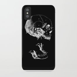 Jaw Bones iPhone Case