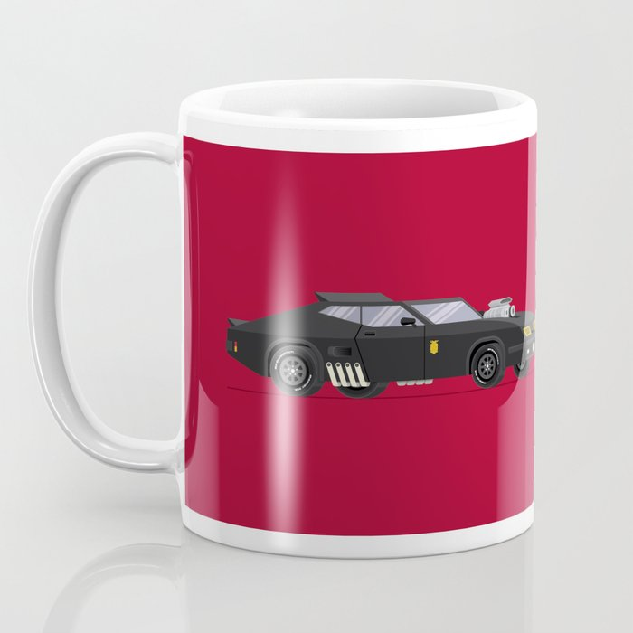 Mad Max Famous Cars Coffee Mug By Fredbirchal Society6