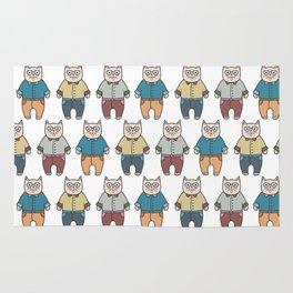 Cute cartoon cats pattern Rug