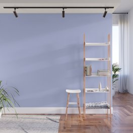 Kiss of Spring ~ Periwinkle Coordinating Solid Wall Mural