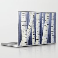 birch Laptop & iPad Skins featuring Birch by Sarah Yee