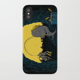 Fisher Fish iPhone Case