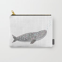 Just a happy whale Carry-All Pouch