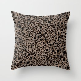 My Cubes Feel Funny 2 Throw Pillow