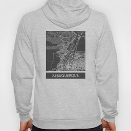 Albuquerque map Hoody