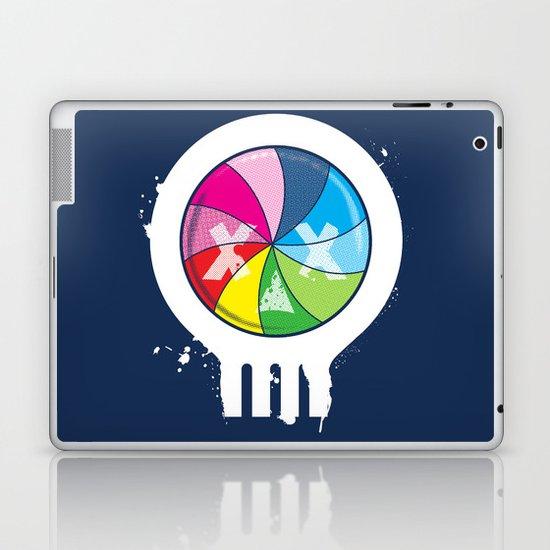 Pinwheel of Death Laptop & iPad Skin