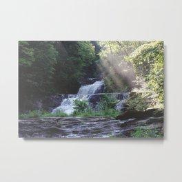 Kent Falls II Metal Print