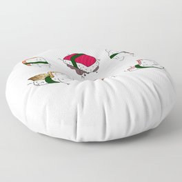 Foods Of The World: Japan (All) Floor Pillow