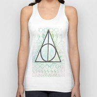 deathly hallows Tank Tops featuring Deathly Hallows by Carmen McCormick