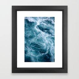 Blue wall art Blue sea photograph Stormy sky print Sea waves prints Printable art sea Sea wall art Sea storm wall print Home decor