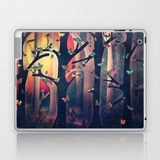 The Woods at Sunset Laptop & iPad Skin