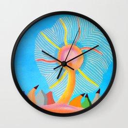 Sollevamento Terrestre Wall Clock