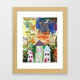 City of Love Framed Art Print